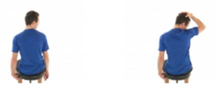 4. Stretching levator scapula